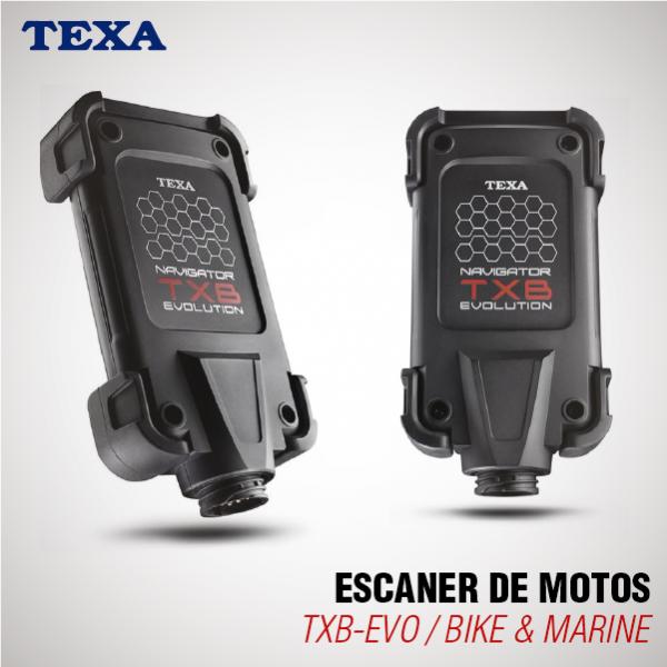 ESCÁNER DE MOTOS TEXA – TXB-EVO